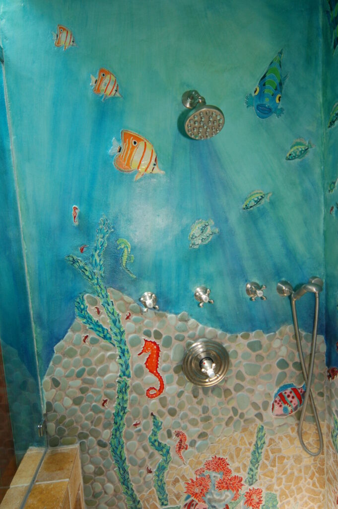 Custom Bathroom Wall and Tile